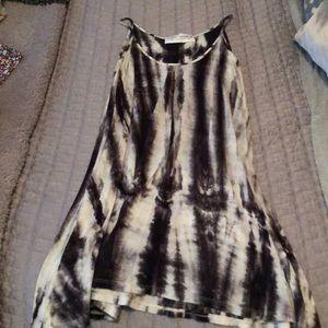 Gypsy Warrior Grey Tye Dye Dress